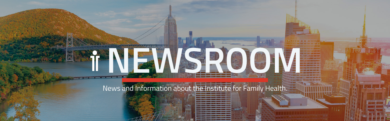 Institute for Family Health Featured on WNYC