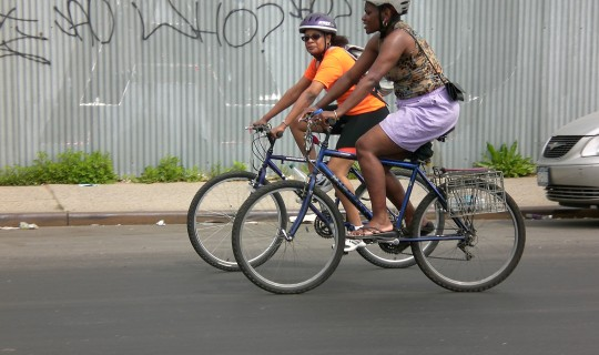 Cyclists by Majora Carter