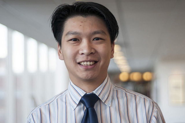 Headshot of Wesley Ho