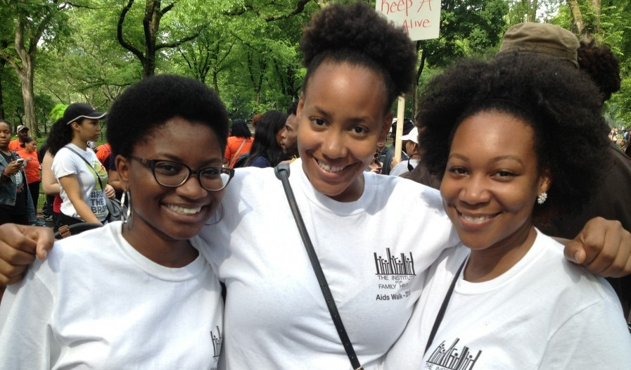 Institute Staff Participate in AIDS Walk New York