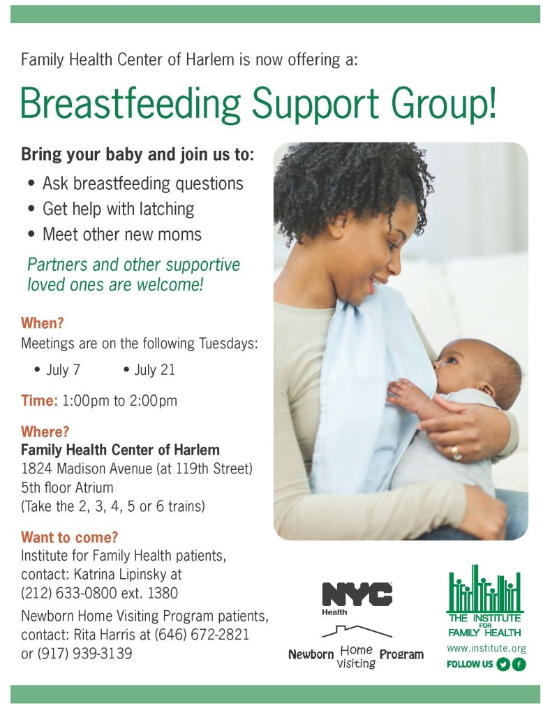 Breastfeeding group flyer_v5a