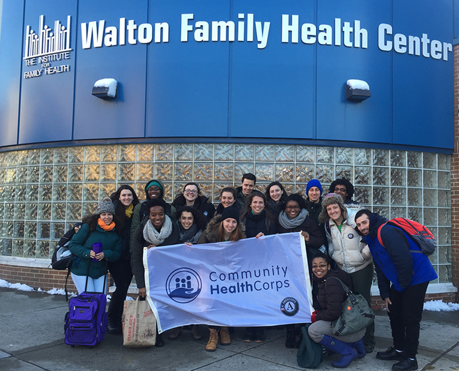 The Institute Celebrates Our Community HealthCorps Team for AmeriCorps Week (March 5th – March 12th)