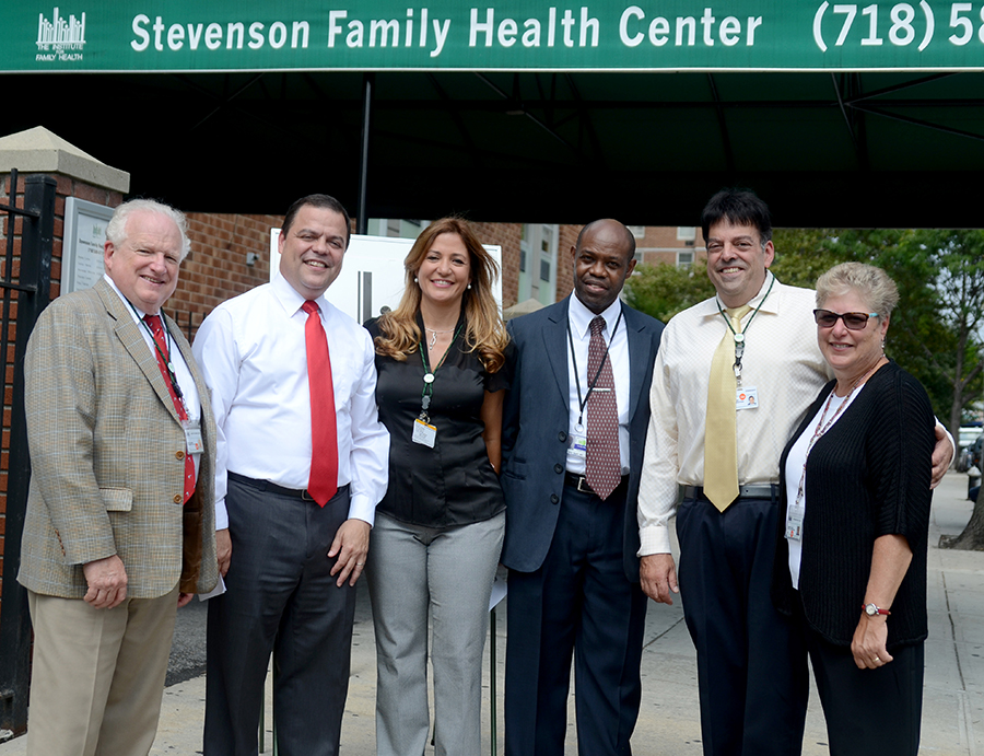 Bronx Assemblymember Sepulveda joins Institute to Celebrate Renovation and Expansion of Stevenson Family Health Center