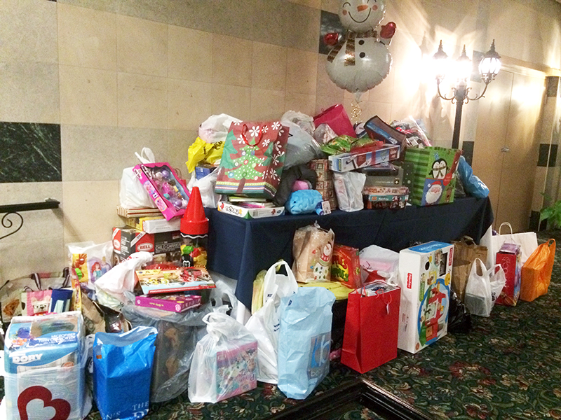 Institute Staff Give Back for the Holidays!