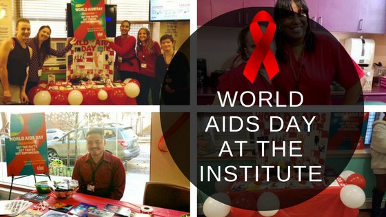 The Institute Observes World AIDS Day