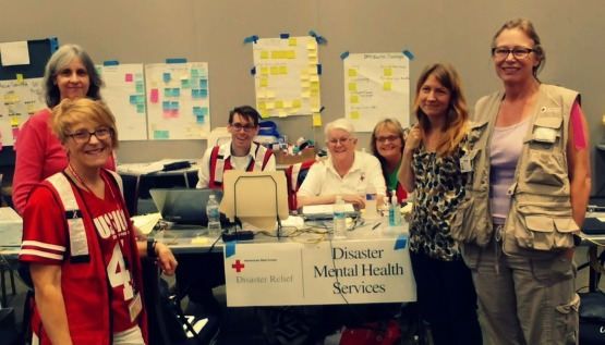 Institute In The Field Providing Disaster Mental Health Services To