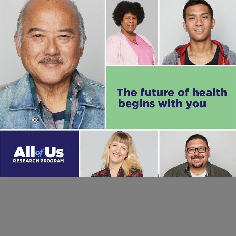 "The Institute Joins National ""All of Us"" Research Recruitment Effort Image"