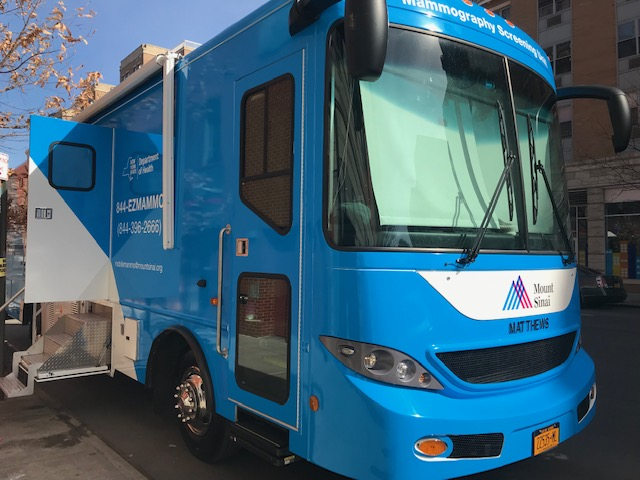 Family Health Center of Harlem Welcomes Mobile Mammography Van