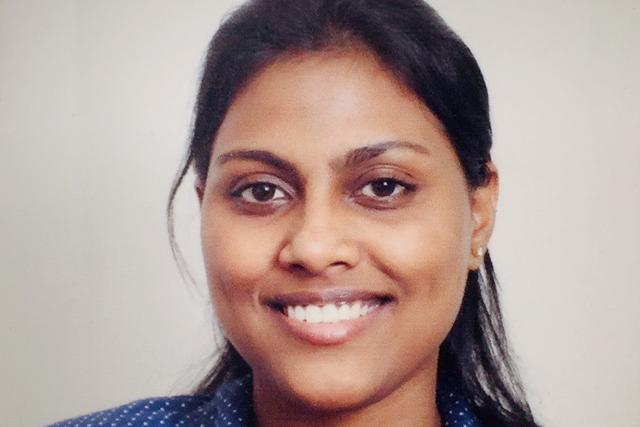 Headshot of Ruth Pallapati