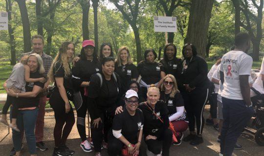 Institute staff at the 2019 AIDS Walk