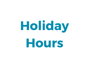 Holiday Hours 2019 (1)