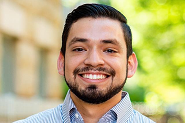 Headshot of Erik P. Sanchez