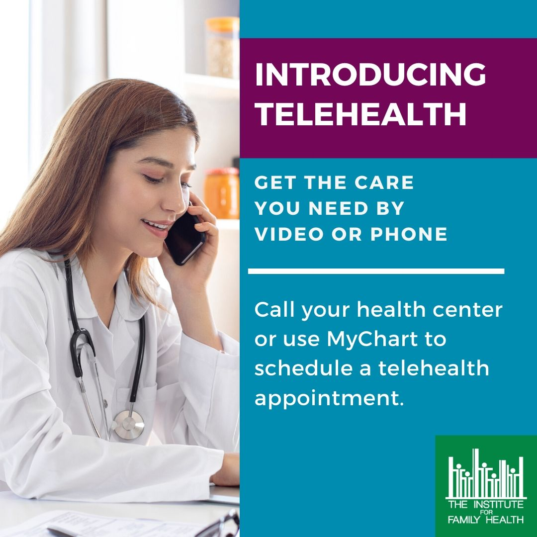 NEW! Telehealth Visits Image