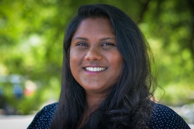 Headshot of (English) Anita Venkatesan